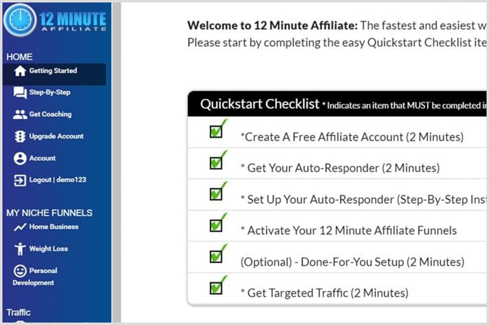 12 Minute Affiliate Review – Reveal the Truth